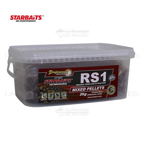 PELLETS RS1 MIX 2KG. STARBAITS