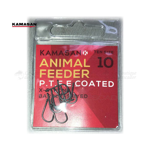ANZUELO ANIMAL FEEDER PTFE KAMASAN