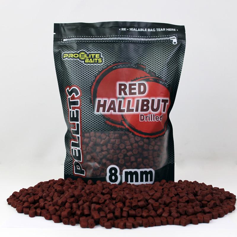 PELLETS PERFORADO RED HALLIBUT 8MM 900GR COPPENS PRO ELITE BAITS