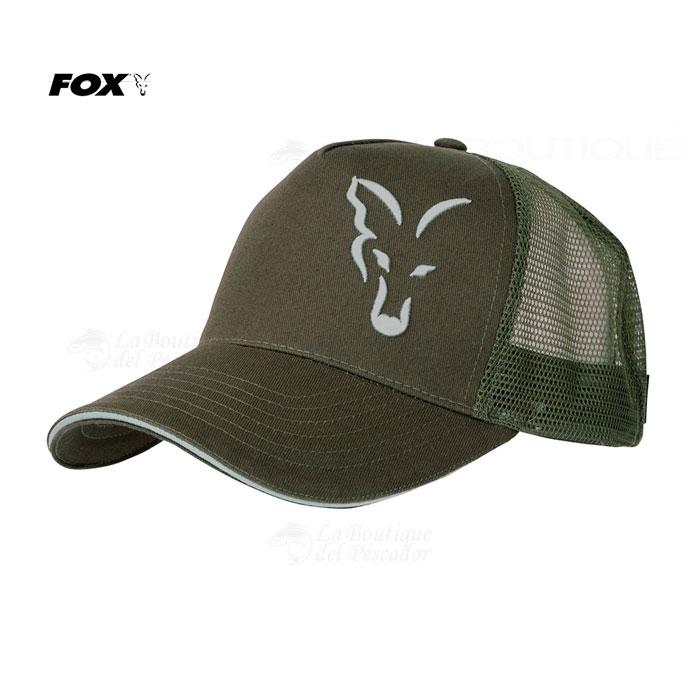 GORRA TRUCKER GREEN SILVER FOX