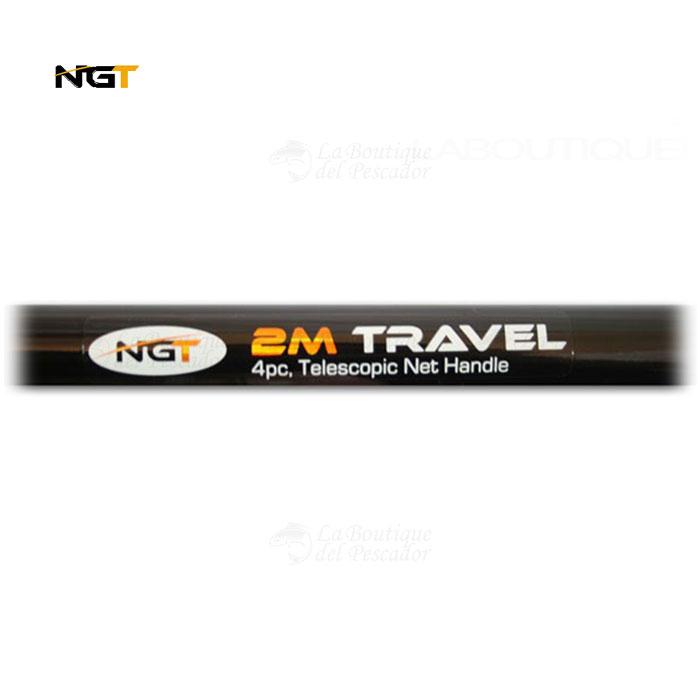 PALO DE SACADERA TRAVEL 2MT 4PC NGT