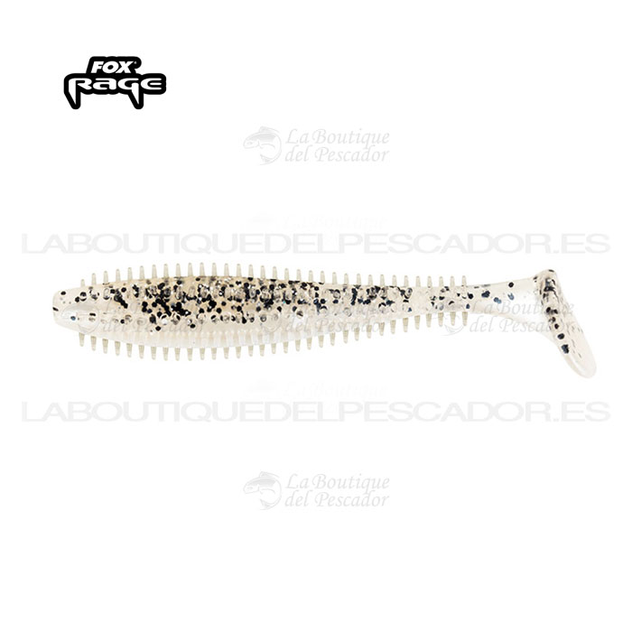 SPIKEY BULK SHADS 9CM. SALT & PEPPER FOX RAGE