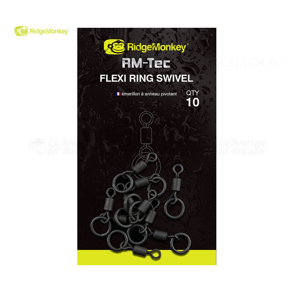 RM-TEC FLEXI RING SWIVEL RIDGEMONKEY