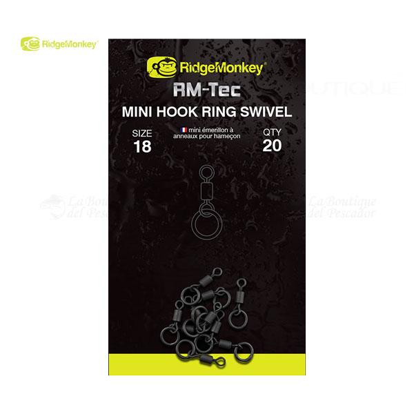 RM-TEC MINI HOOK RING SWIVEL RIDGEMONKEY