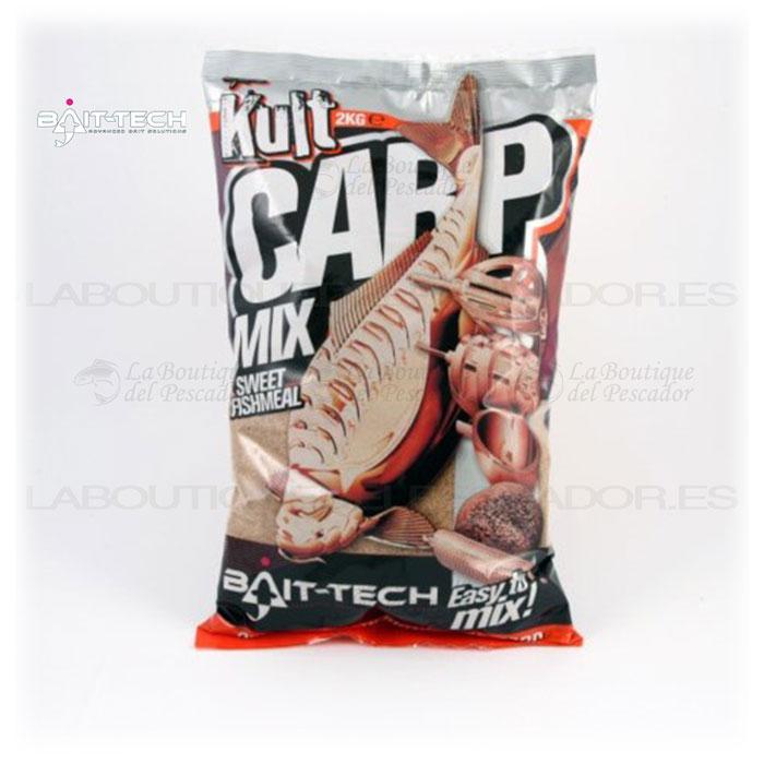KULT SWEET FISHMEAL CARP MIX 2KG. BAIT-TECH
